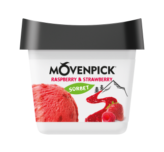 Raspberry & Strawberry Sorbet - 165ml