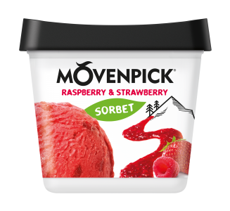 Raspberry & Strawberry Sorbet - 810-900ml